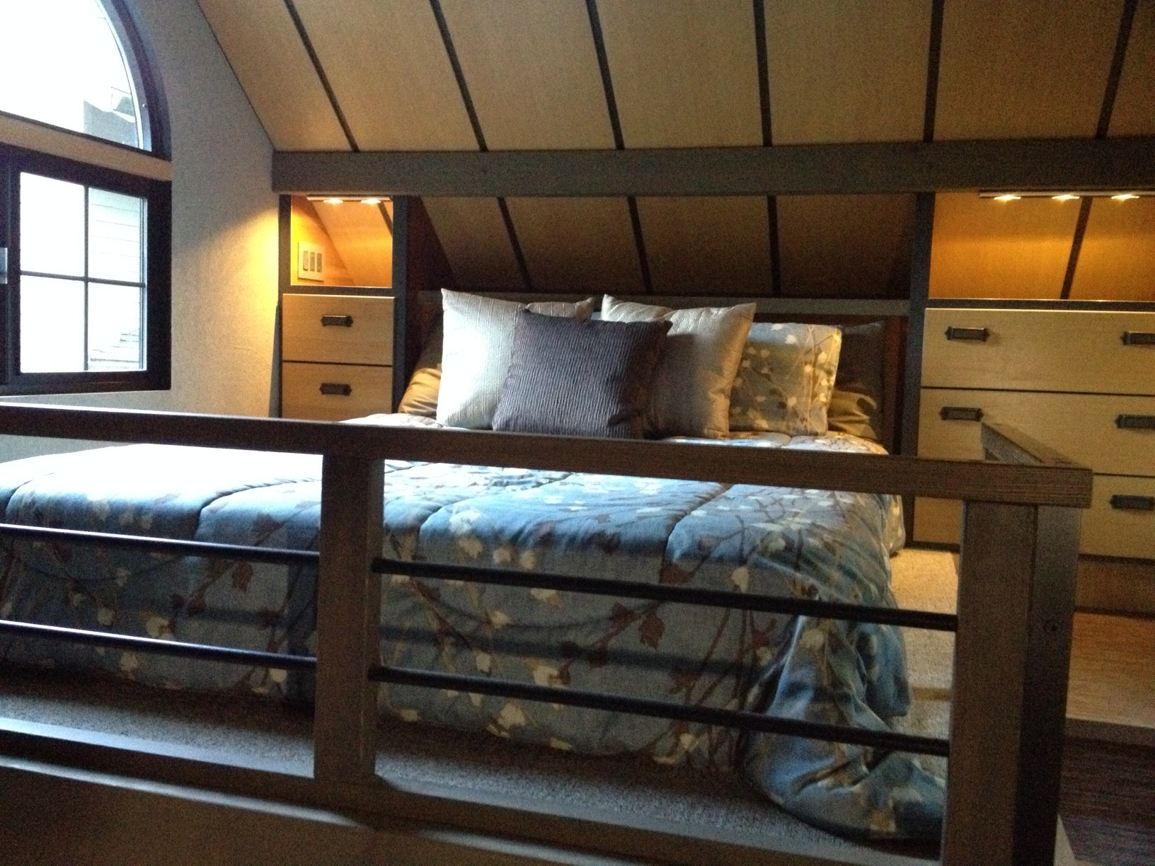 A Sleeping Loft You Can Stand Up In Tiny House