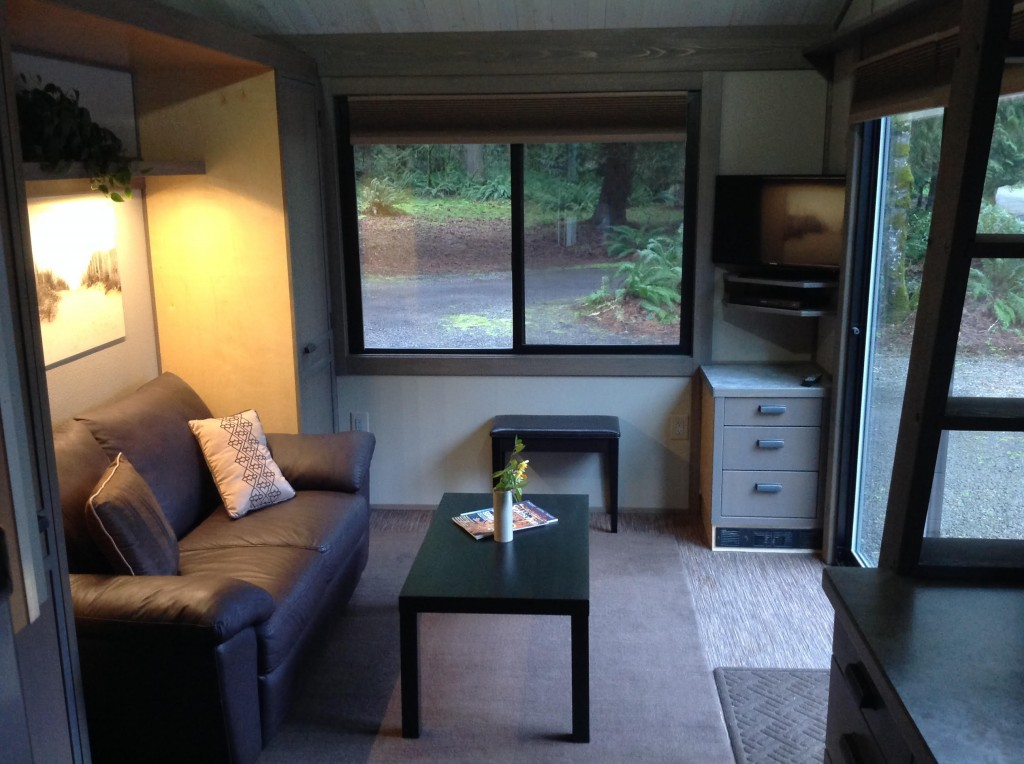 Aurora Tiny House Living Room